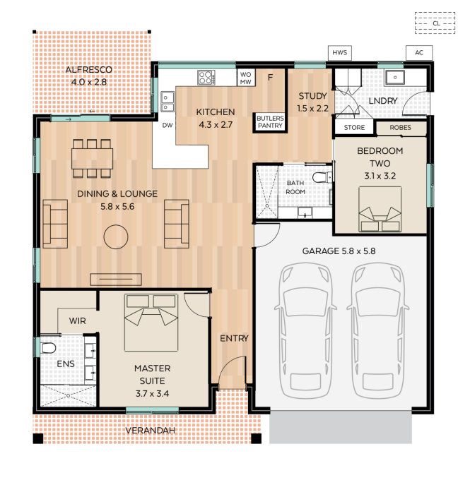 Barwon floor plan - click to expand